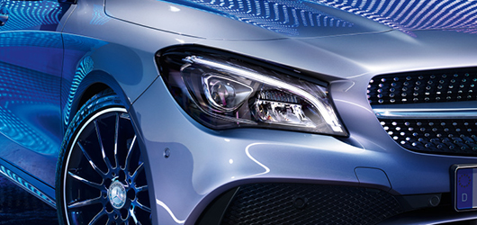 Mercedes-Benz CLA LED farovi