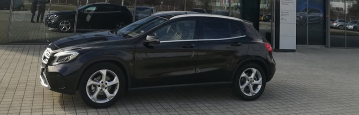 Mercedes-Benz GLA 180 d