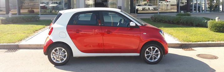smart forfour 1.0 automatik Passion